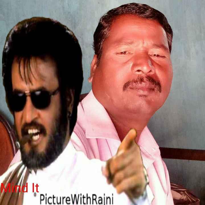 அரசியலில் ரஜினிகாந்த் - Ad It PictureWith Rajni - ShareChat