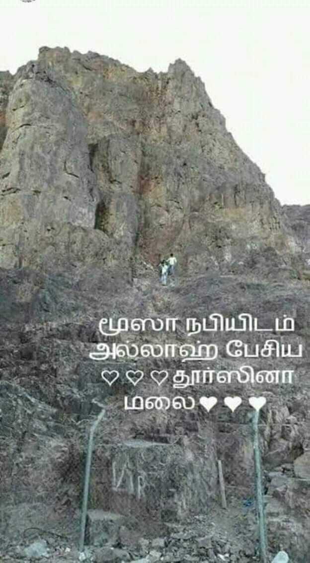 🕍 அல்லாவின் அருட்கொடை - மூஸா நபியிடம் அல்லாஹ் பேசிய ? ? ? தூர்ஸினா மலை : - ShareChat