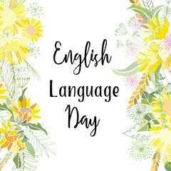 ஆங்கில மொழி தினம் - El English Language Day - ShareChat