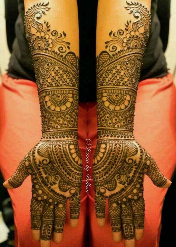 💅ஆடை அலங்கரம் & மெகந்தி - YEREL @ Henna by Pallavi - ShareChat