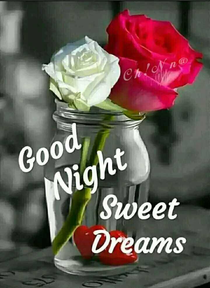🌙இரவு வணக்கம் - Good Wight Sweet Dreams sweet - ShareChat