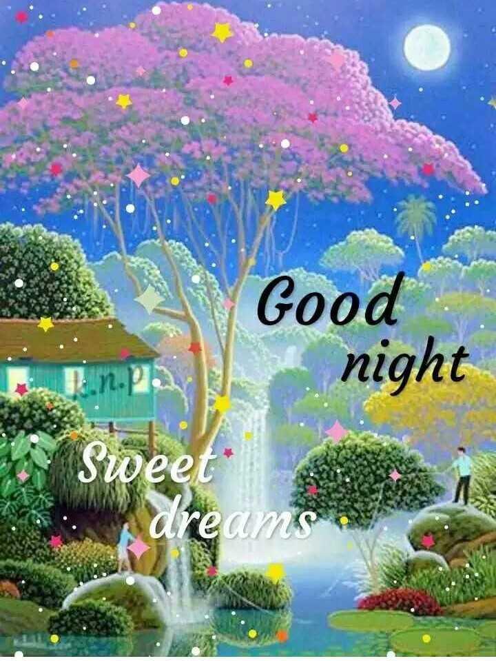 🌙இரவு வணக்கம் - Good Ti . npag night Sweet - ShareChat