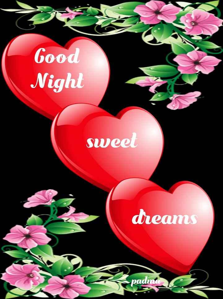 🌙இரவு வணக்கம் - Good Night sweet dreams padma - ShareChat