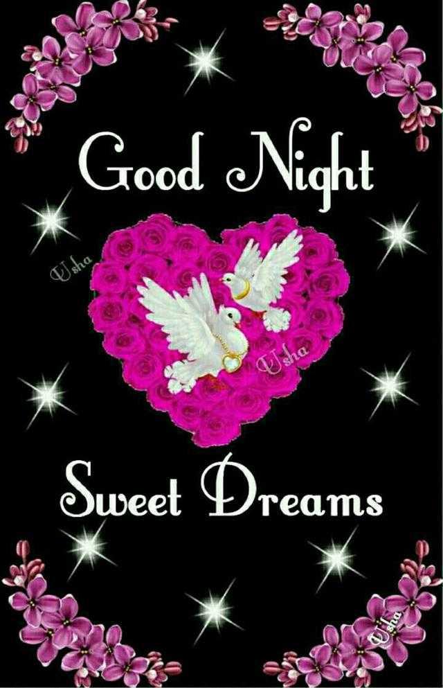 🌙இரவு வணக்கம் - * Good Night Usha Sweet Dreams sho - ShareChat