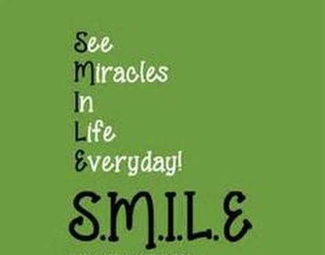 😉எமோஜி தினம் - See Miracles In Life Everyday ! SMILE - ShareChat
