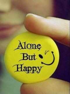 😉எமோஜி தினம் - Alone But Happy - ShareChat