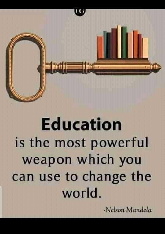 📕கல்வி - El EN EN El El Education is the most powerful weapon which you can use to change the world . W - Nelson Mandela - ShareChat