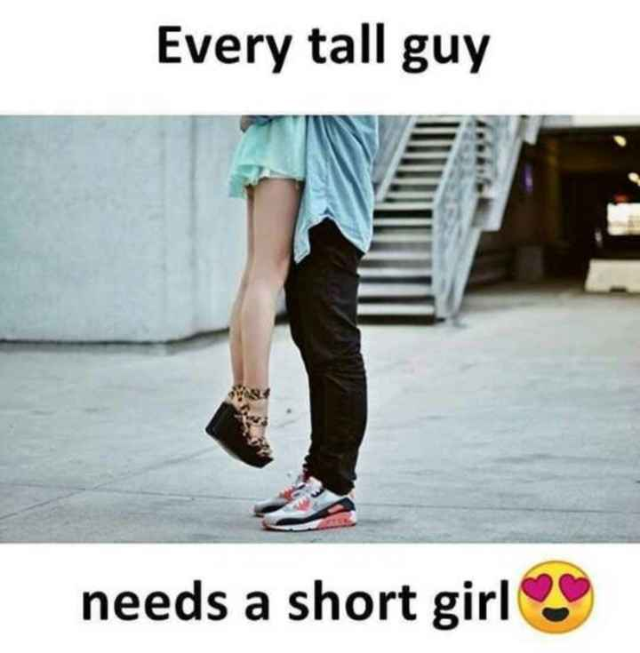💑 காதல் ஜோடி - Every tall guy needs a short girls - ShareChat