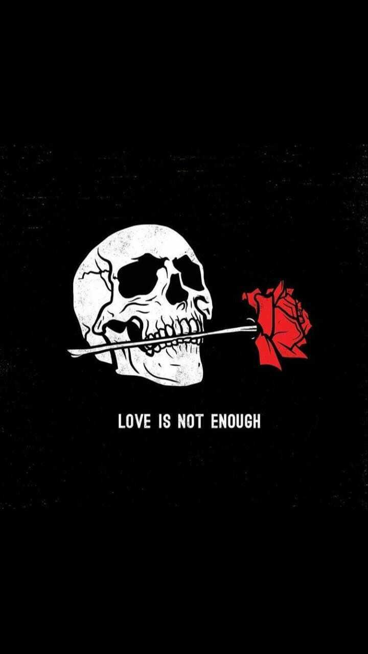 💕 காதல் ஸ்டேட்டஸ் - LOVE IS NOT ENOUGH - ShareChat