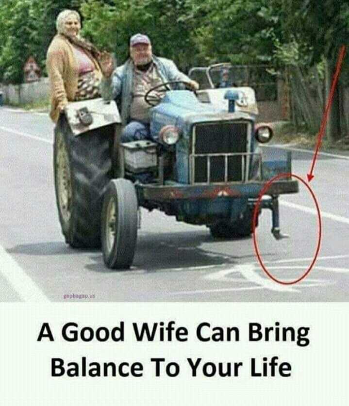 😂 காமெடி கலாட்டா - apbagap . us A Good Wife Can Bring Balance To Your Life - ShareChat
