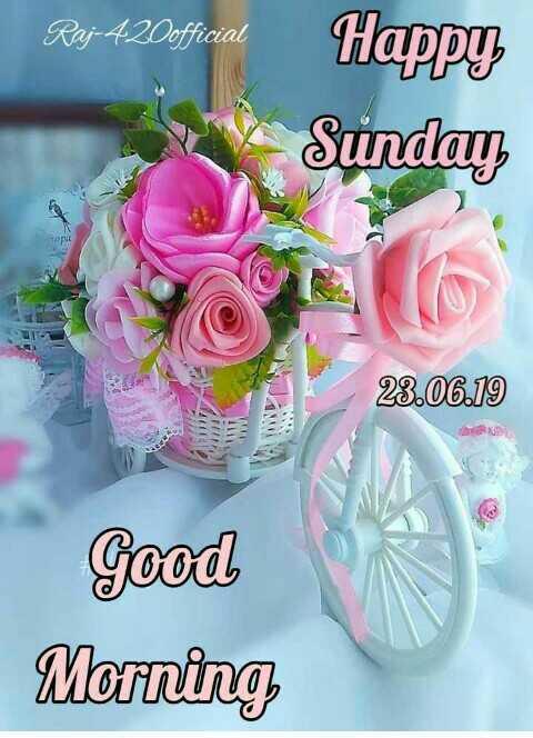 🌞காலை வணக்கம் - Raj - 420official Sunday 23 . 06 . 19 Good Morning - ShareChat