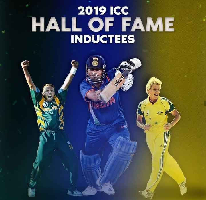 🏏 கிரிக்கெட் - 2019 ICC HALL OF FAME INDUCTEES adidas - ShareChat