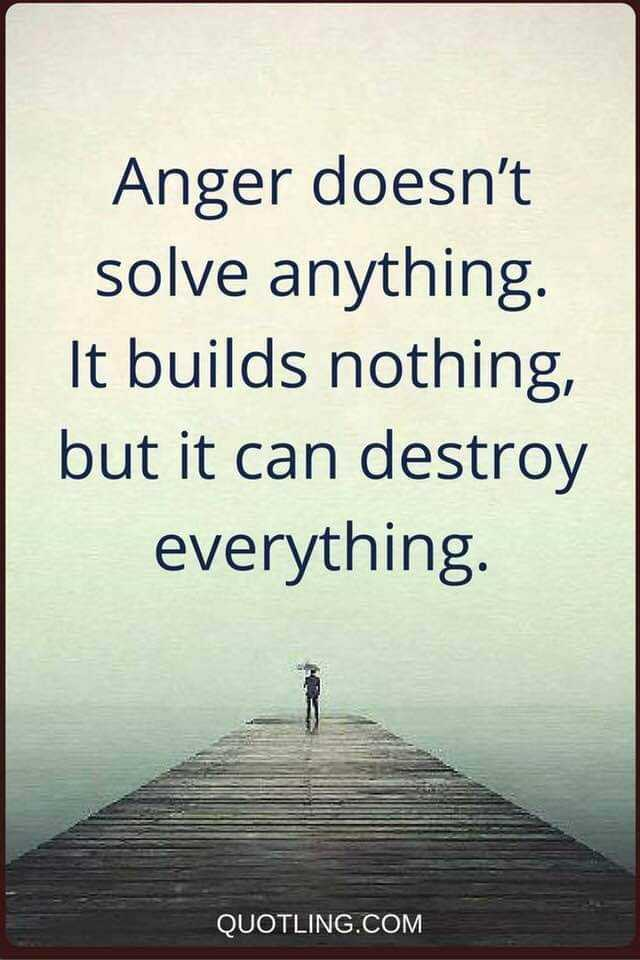 கோபம் - Anger doesn ' t solve anything It builds nothing , but it can destroy everything QUOTLING . COM - ShareChat