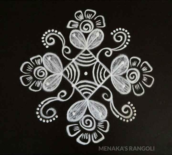 🌸 கோலம் - MENAKA ' S RANGOLI - ShareChat