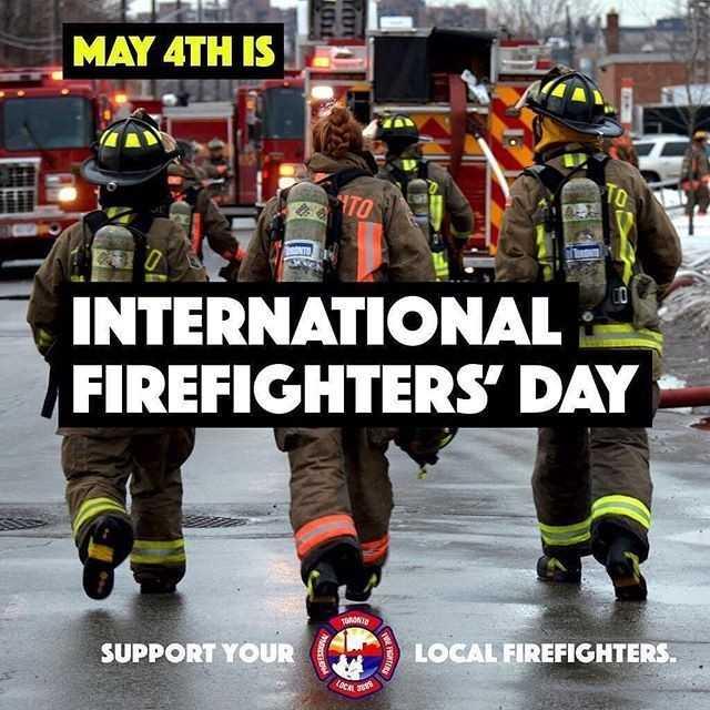 🎆சர்வேதேச தீயணைப்பு வீரர்கள் தினம் - MAY 4TH IS INTERNATIONAL FIREFIGHTERS ' DAY TONTO SUPPORT YOUR ( C ) LOCAL FIREFIGHTERS . - ShareChat