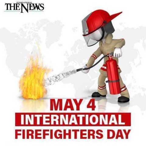🎆சர்வேதேச தீயணைப்பு வீரர்கள் தினம் - THE NEWS MAY 4 INTERNATIONAL FIREFIGHTERS DAY - ShareChat