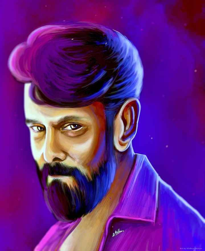 சியான் விக்ரம் - Art by Midhun Mohan - ShareChat