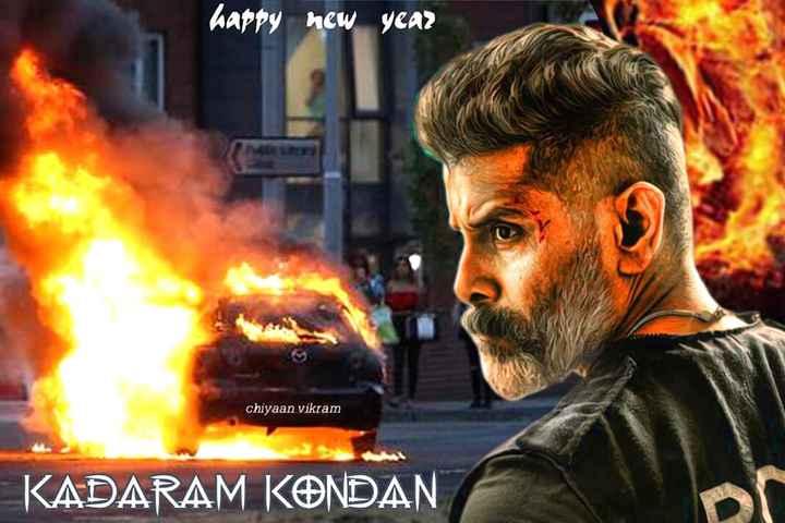 சியான் விக்ரம் - happy new year chiyaan vikram KADARAM KONDAN - ShareChat