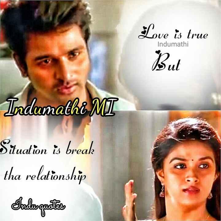செம்பருத்தி - Love is true Indumathi But Indumathi MT lon break Situation is break tha relationship Talagastos - ShareChat
