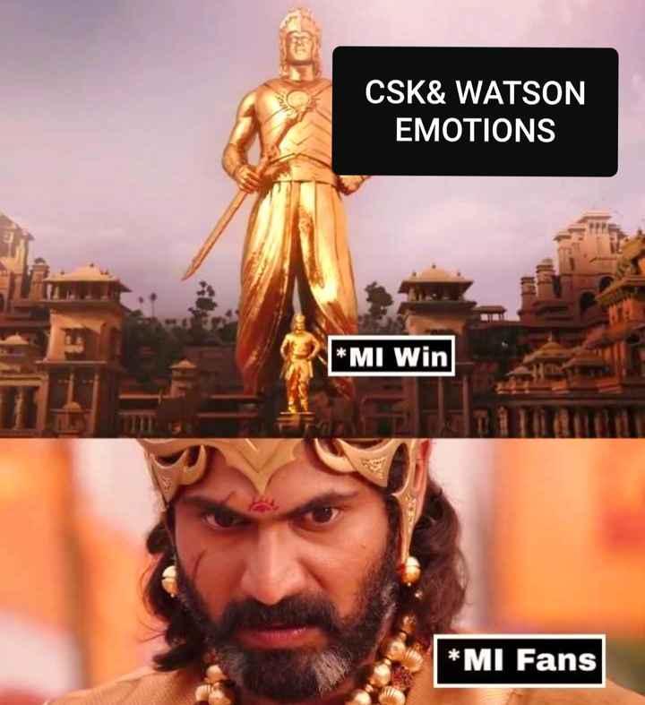 🧑  தல தோனி - CSK & WATSON EMOTIONS * MI Win * MI Fans - ShareChat