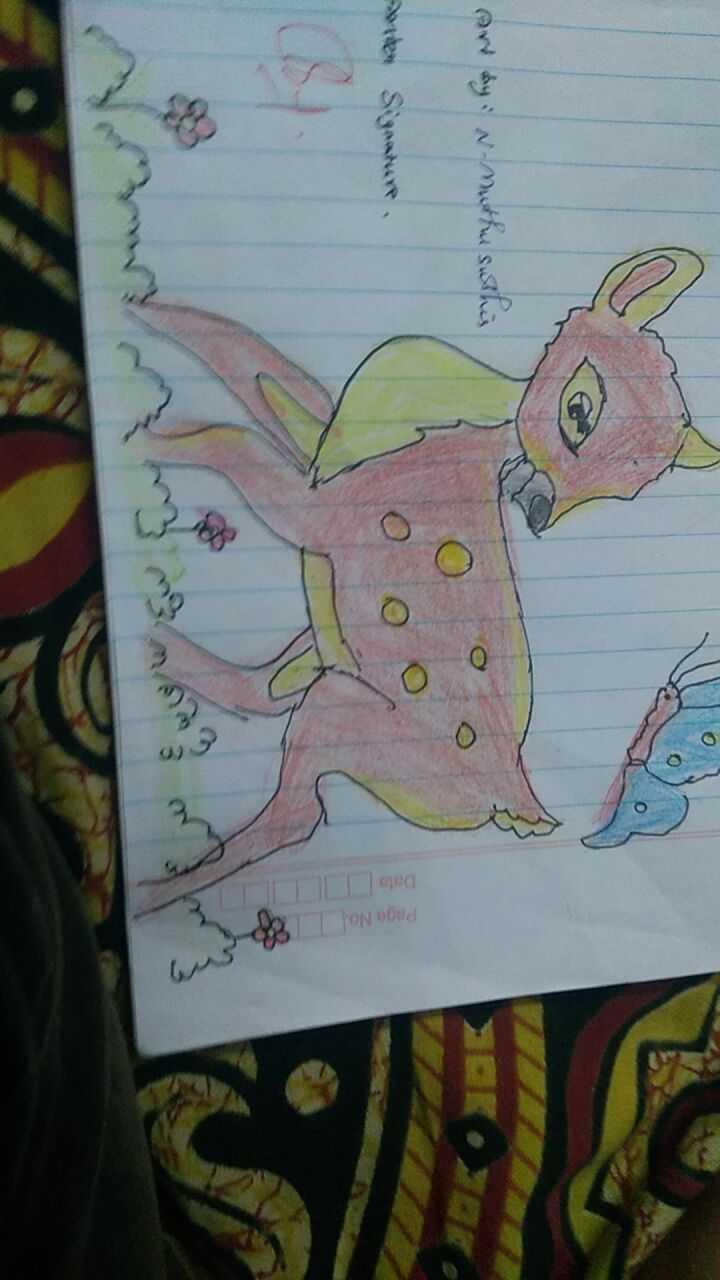🎨 நான் வரைந்த ஓவியம் - Art by : w - muthu susthis 0 0 0 e Signature 0 Pago Ne B - ShareChat