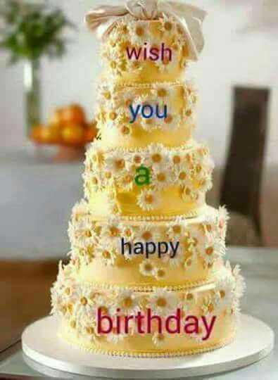 🤝பிறந்தநாள் வாழ்த்து - Wish • you . happy birthday - ShareChat