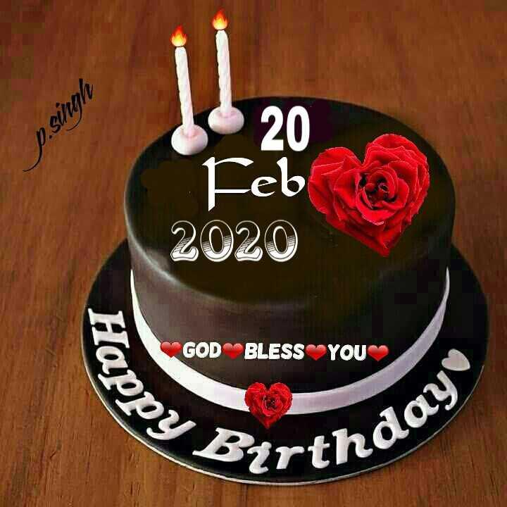 🤝பிறந்தநாள் வாழ்த்து - P . singh 20 Feb 2020 SE GOD BLESS YOU Happy Bertholo - ShareChat