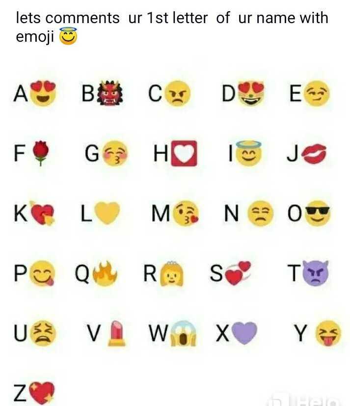 🤔 புதிர்கள் - lets comments ur 1st letter of ur name with emoji ☺ A F K P B G L Q C D E H I JO M Neon R S T U V W X Y Z - ShareChat