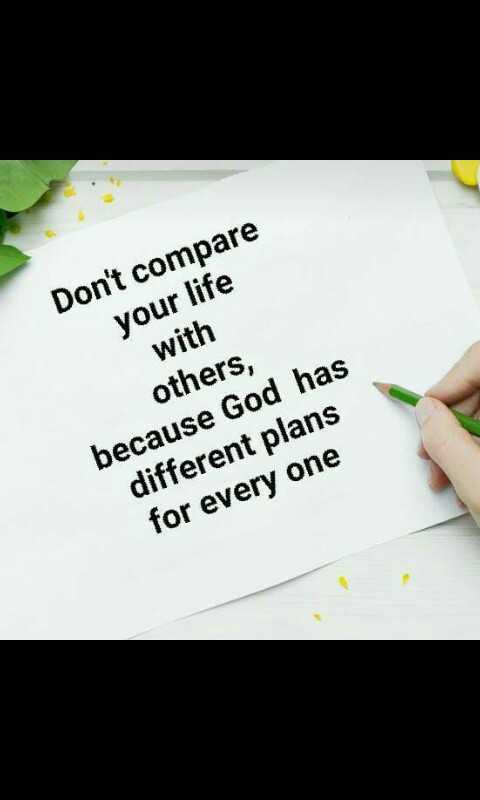 பெண்களின் நட்பு - Don ' t compare your life with others , because God has different plans for every one - ShareChat