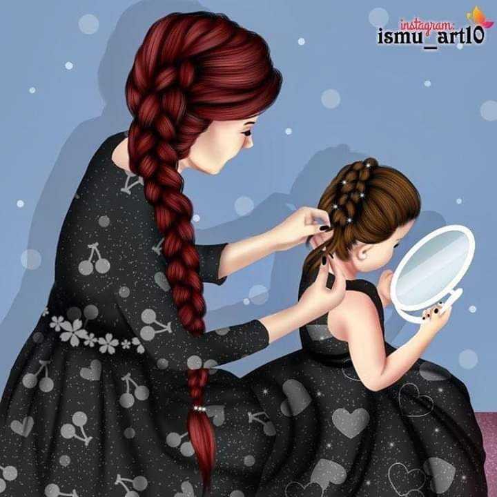👩 பெண்களின் பெருமை - instagram ismu art10 - ShareChat