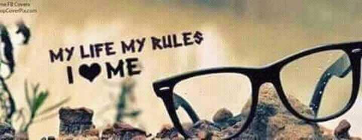 👩 பெண்களின் பெருமை - Cover MY LIFE MY RULES IME - ShareChat