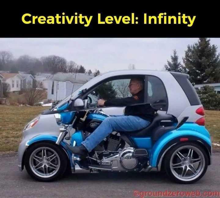 பைக் & கார் - Creativity Level : Infinity groundzeroweb . com - ShareChat