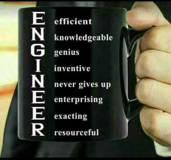 👷பொறியாளர்கள் தினம் - OZ0 - 60 efficient knowledgeable genius inventive never gives up enterprising exacting resourceful - ShareChat