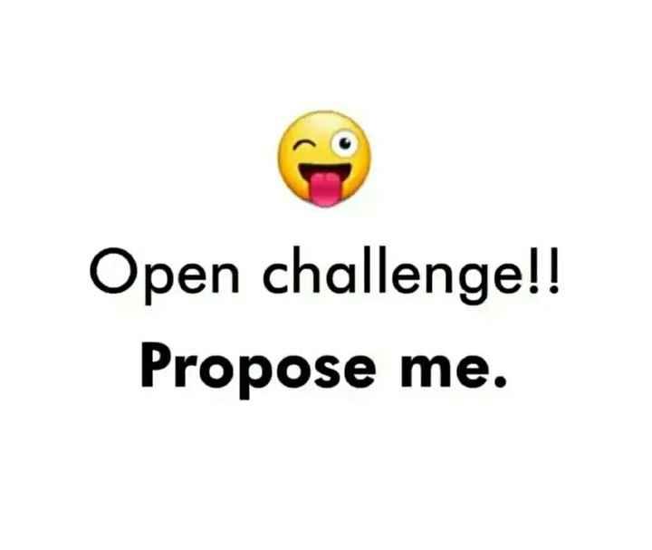 📝 மதுரை - Open challenge ! ! Propose me . - ShareChat