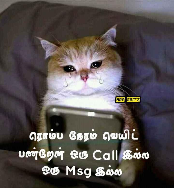 🤣 லொள்ளு - MRP EDITZ ரொம்ப நேரம் வெயிட் பண்றேன் ஒரு Call இல்ல ஒரு Msg இல்ல - ShareChat