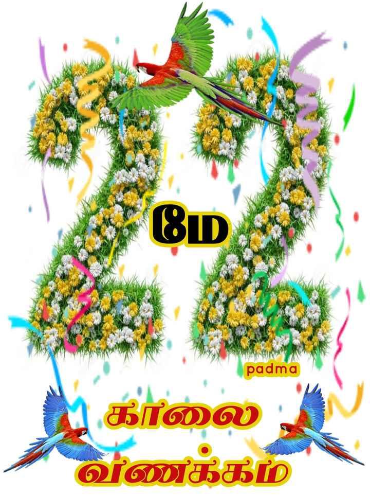 🌷 வாழ்த்து - padma ப காலை - வணக்கம் - ShareChat