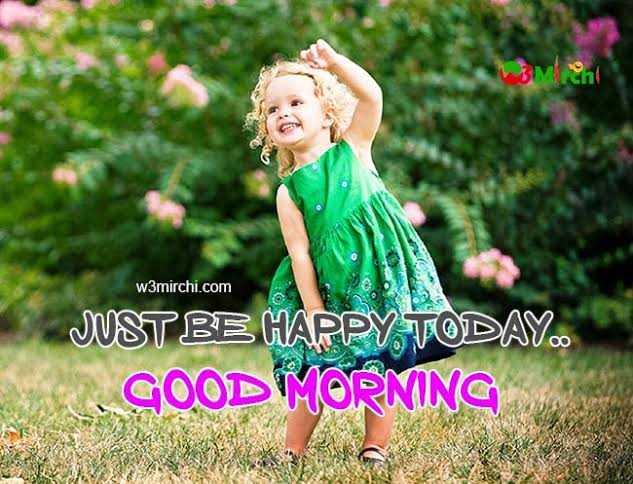 🌷 வாழ்த்து - BMcni COM w3mirchi . com JUST BE HAPPY TODAY . GOOD MORNING - ShareChat