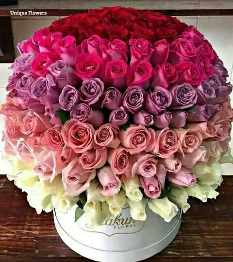 🌷 வாழ்த்து - Unique Flowers OM 2 akur - ShareChat