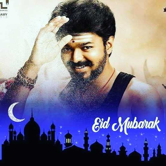 🤵விஜய் - - SIM EAMY Eid Mubarak - ShareChat