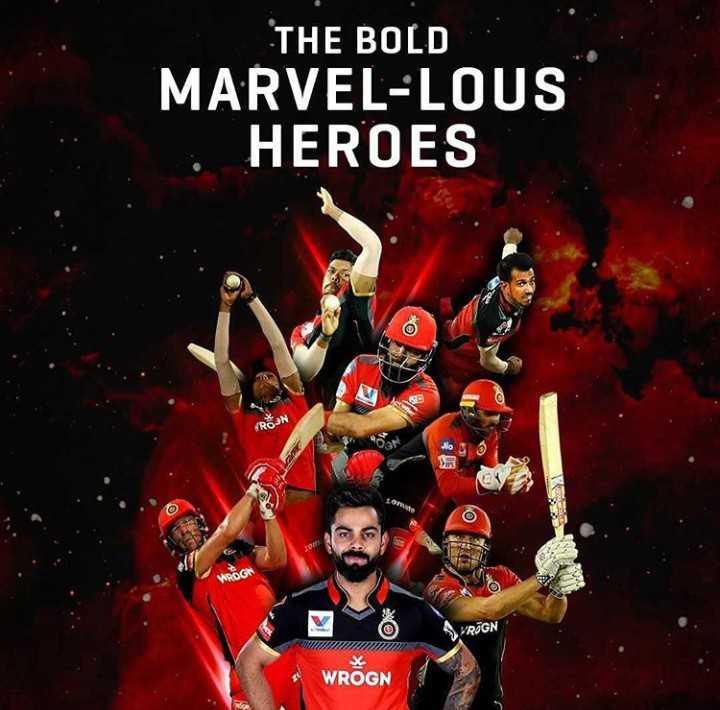 🧑 விராத் கோலி - THE BOLD MARVEL - LOUS HEROES WROGO RÖGN WROGN - ShareChat