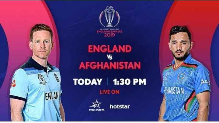 📝 விளையாட்டு செய்திகள் - RECRET WORLD CU ENGLAND & WALES 2019 Vs ENGLAND AFGHANISTAN TODAY | 1 : 30 PM LIVE ON BHAISTAN ENLAN hotstar STAR SPORTS - ShareChat