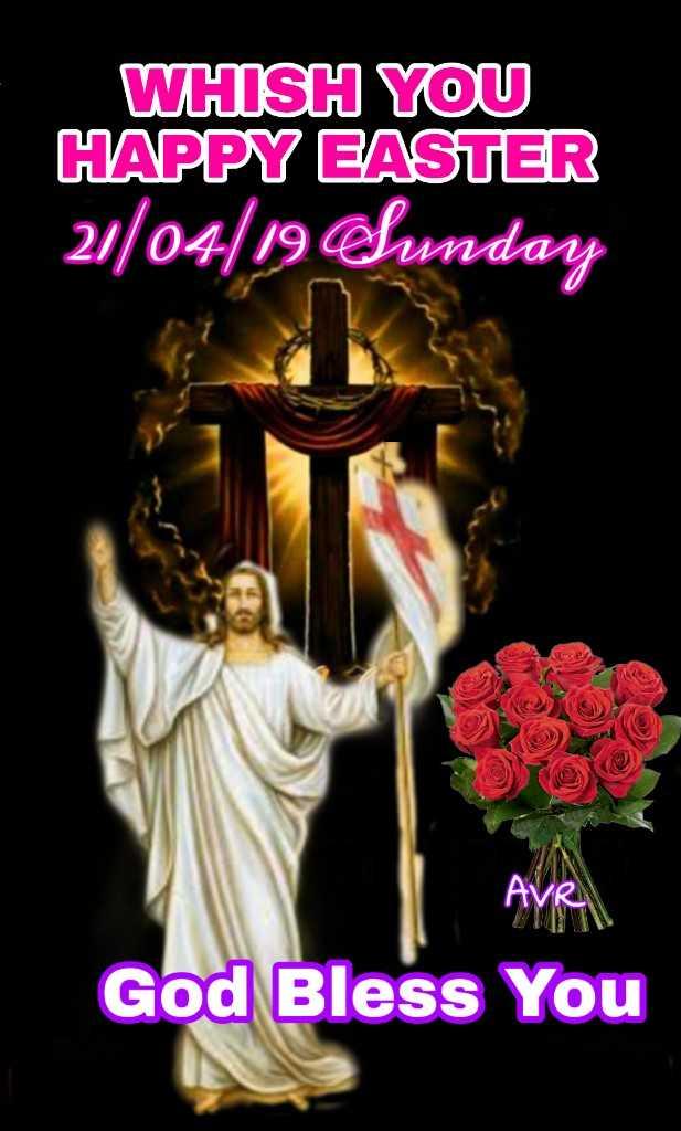 ⛪ வேளாங்கண்ணி சர்ச் - WHISH YOU HAPPY EASTER 21 / 04 / 19 hunday AVR God Bless You - ShareChat