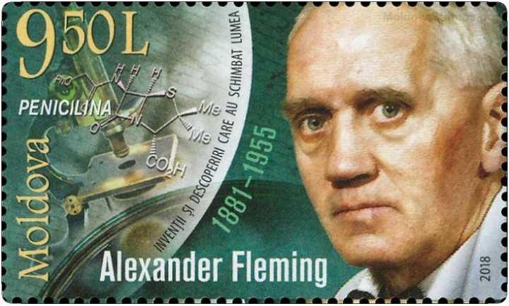 🌹అలెగ్జాండర్ ఫ్లెమింగ్గారి జయంతి🌹🌷 - Moldova Mona PENICILINA Puo HH Alexander Fleming INVENTII SI DESCOPERIRICA CARE AU SCHIMBAT LUMEA 1881 – 1955 2018 - ShareChat