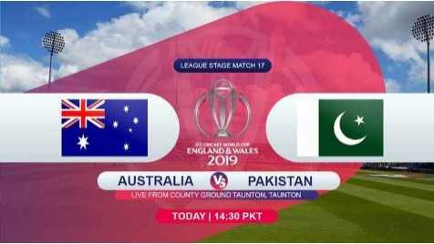 🏆ఆస్ట్రేలియా vs పాకిస్థాన్ - LEAGUE STAGE MATCH 17 LEAGUE STAGE MATCH 1 ENGLAND & WALES 2019 AUSTRALIA V8 PAKISTAN LIVE FROM COUNTY GROUND TAUNTON , TAUNTON TODAY | 14 : 30 PKT - ShareChat
