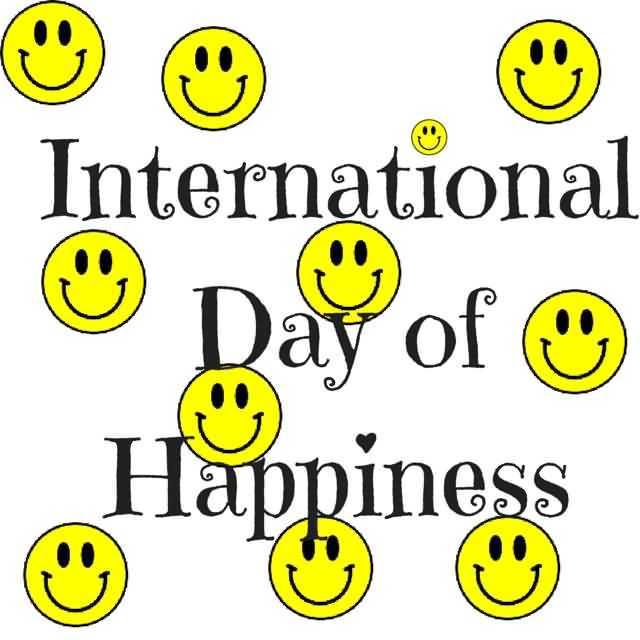 ఇంటర్నేషనల్ డే ఆఫ్ హ్యాపీనెస్😀 - International Day of Ⓡ Happiness - ShareChat