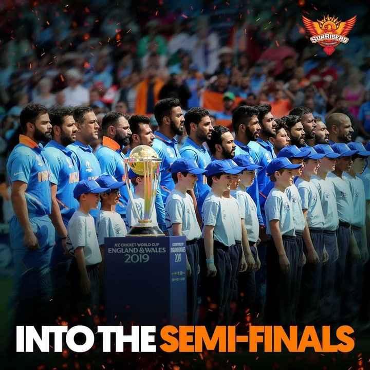 🏏ఇండియా vs బంగ్లాదేశ్🏏 - SUNRISERS ICC CRICKET WORLD CUP ENGLAND & WALES 2019 INTO THE SEMI - FINALS - ShareChat