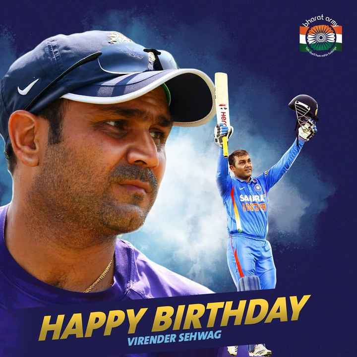🏏ఇండియా vs సౌత్ ఆఫ్రికా - narat are eh dosti on todetes Herci WHO SAIRA Nae HAPPY BIRTHDAY VIRENDER SEHWAG - ShareChat