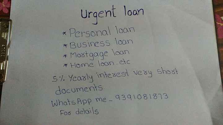 🌍ఓజోన్ పోర - Urgent loan * Personal loan * Business loan & Mortgage loan * Home loan . etc 5 % Yearly interest very short documents Whats App me _ 9391081873 For details - ShareChat
