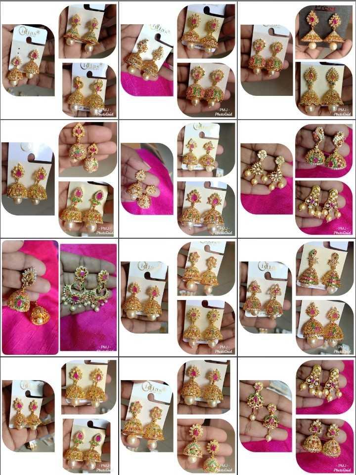 💍కమ్మలు/జుంకీలు - Phutud Photod PMI Phetch De Gid PhotoGrid PhotoGhid Phone PMJ cogid Phot PuGhid - ShareChat