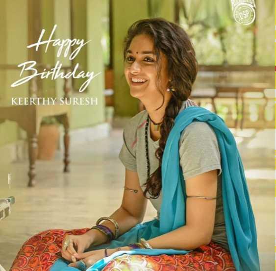 🎂 కీర్తీ సురేష్ పుట్టినరోజు - Happy way KEERTHY SURESH - ShareChat